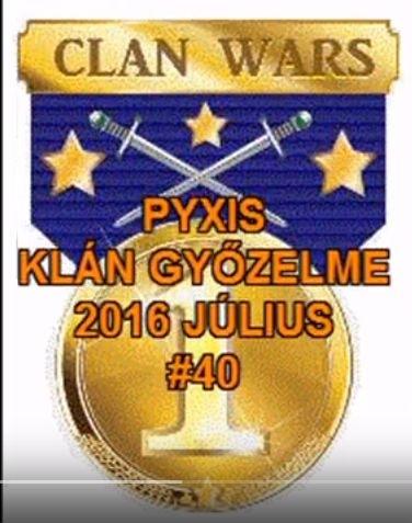 A Pyxis klán győzelme